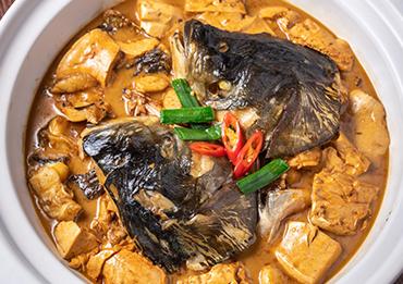 老豆腐鱼头