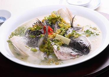 笋干菜江鲈